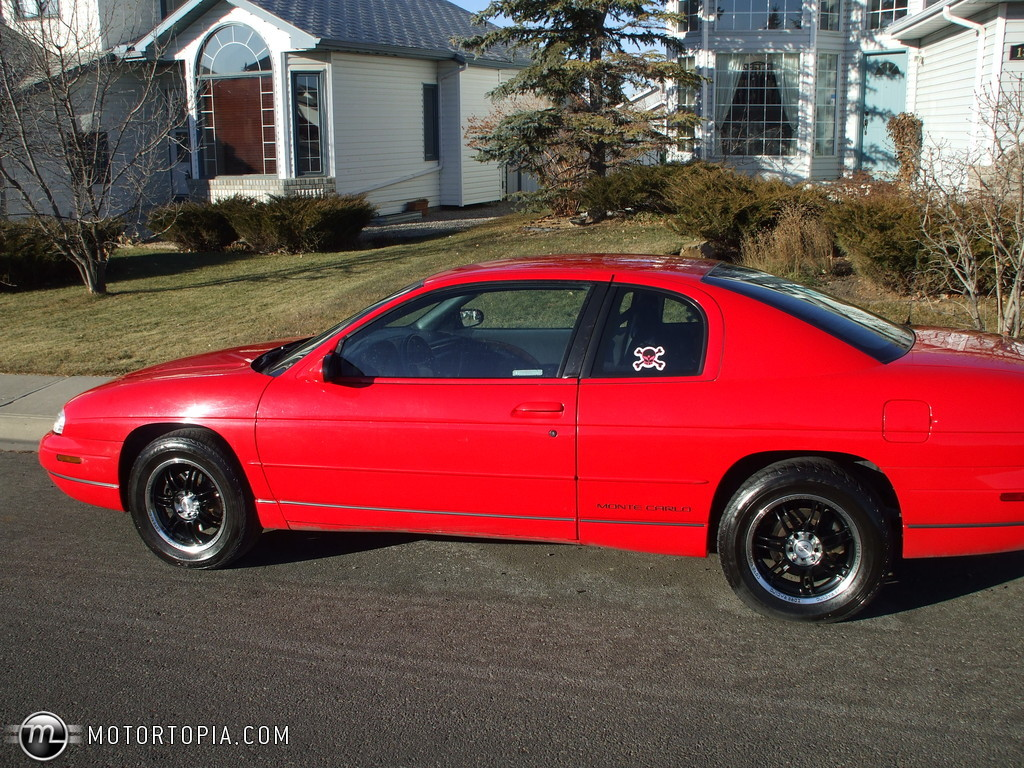 Chevrolet Monte Carlo red #2