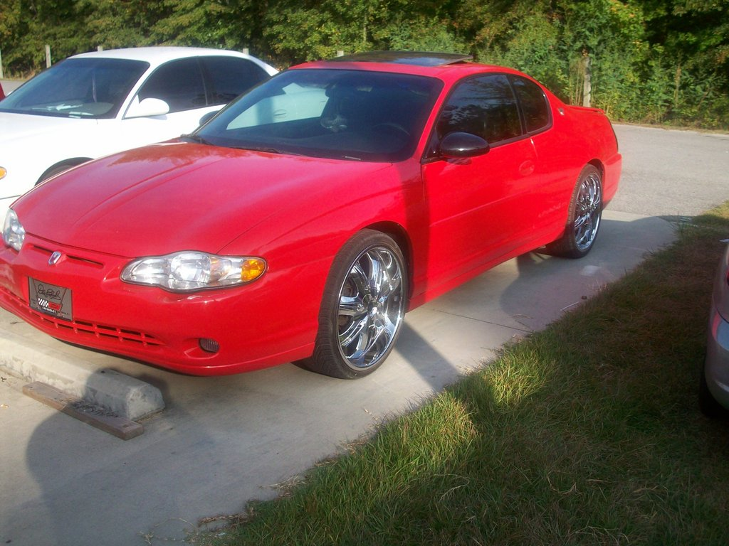 Chevrolet Monte Carlo red #4
