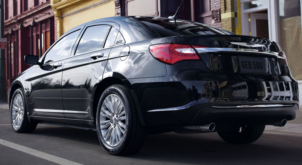 Chrysler 200 black #3