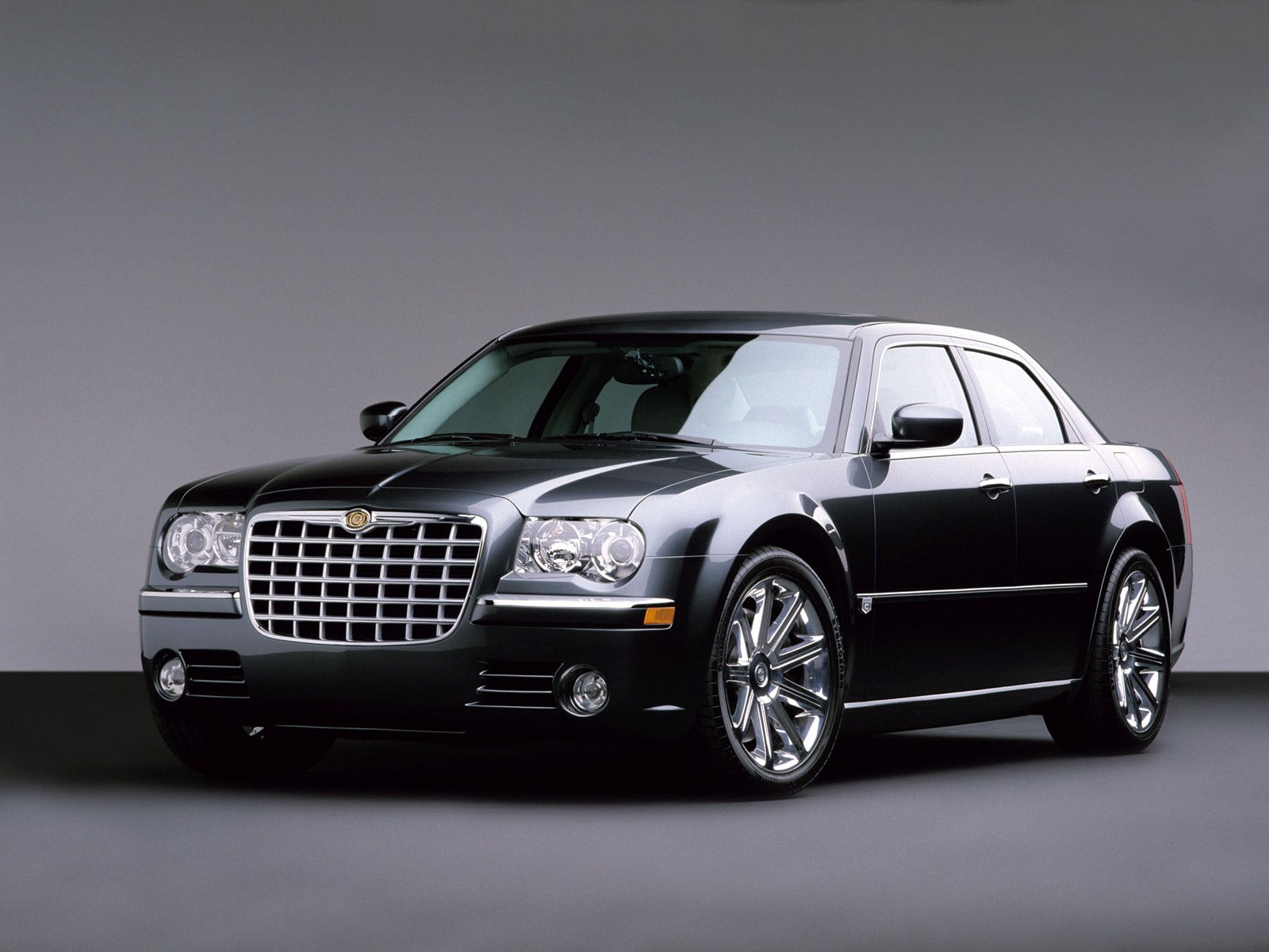 Chrysler 300M black #4
