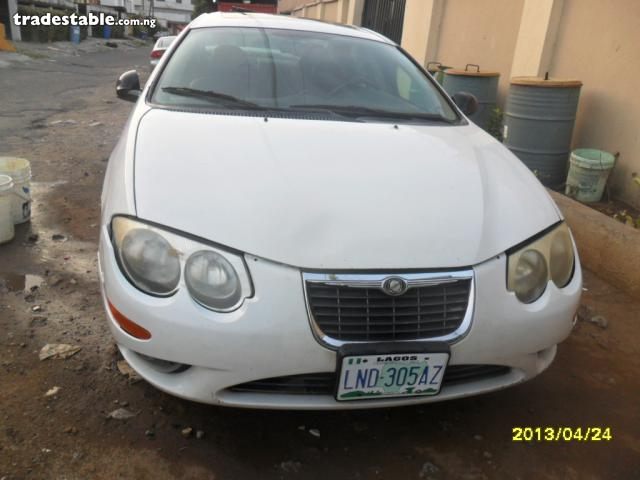 Chrysler 300M white #3