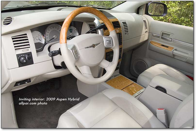 Chrysler Aspen interior #4