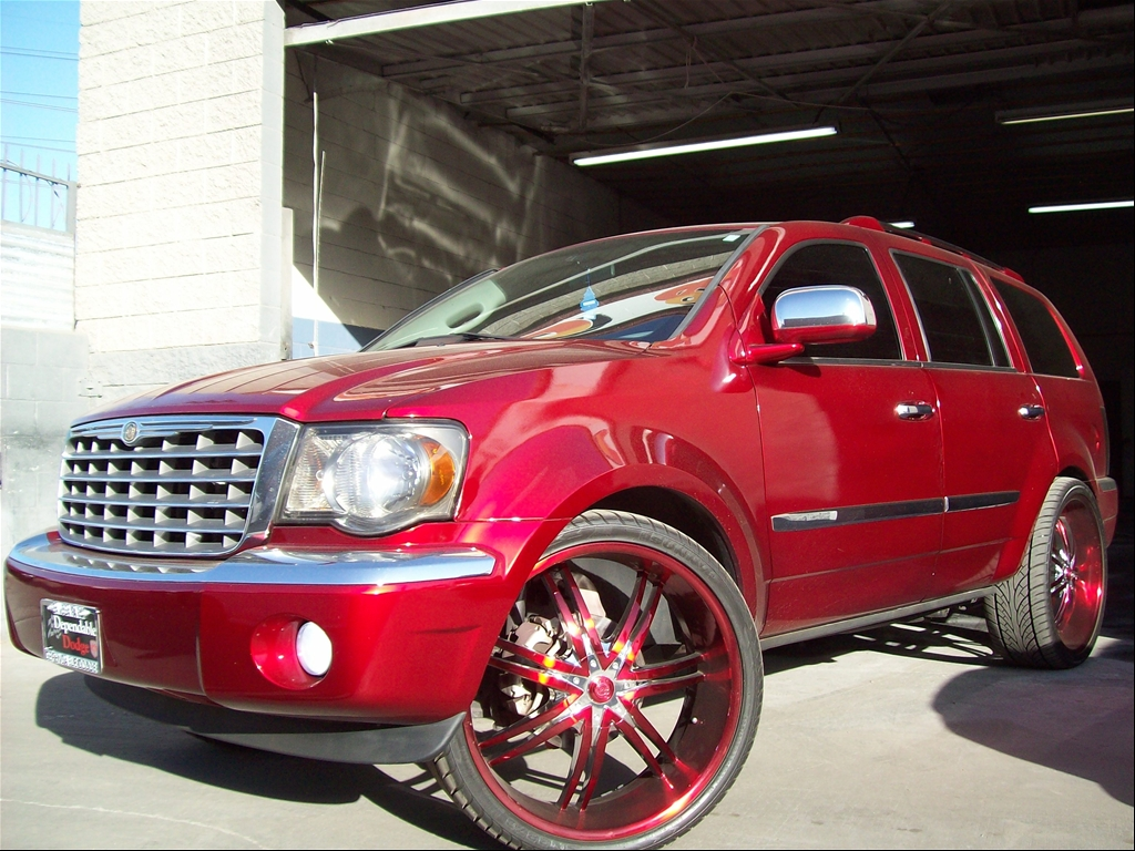 Chrysler Aspen red #2