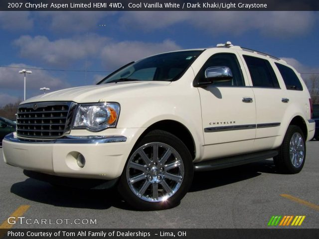 Chrysler Aspen white #2