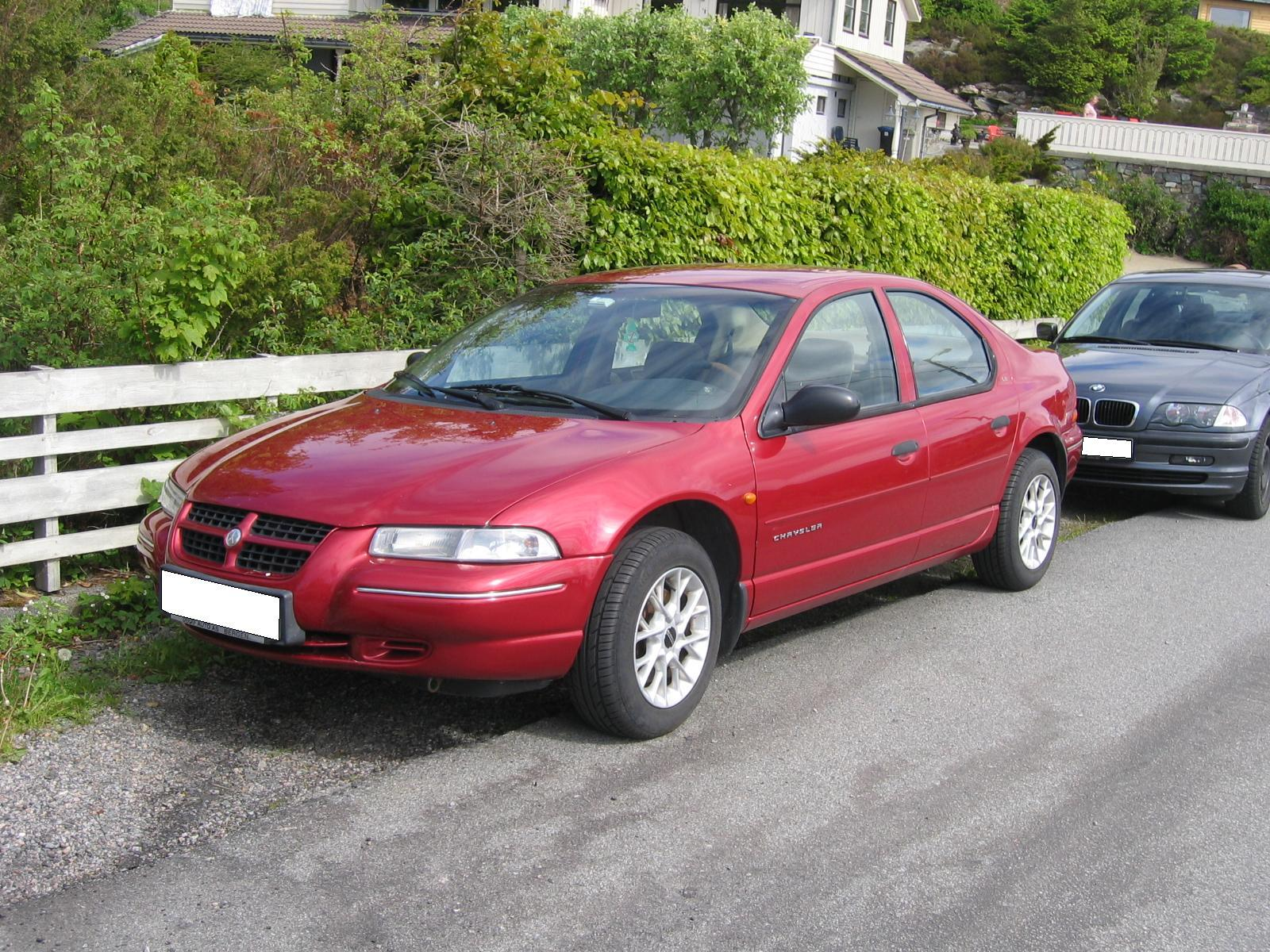 Chrysler Cirrus red #3
