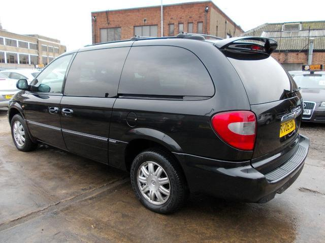 Chrysler Grand Voyager black #4