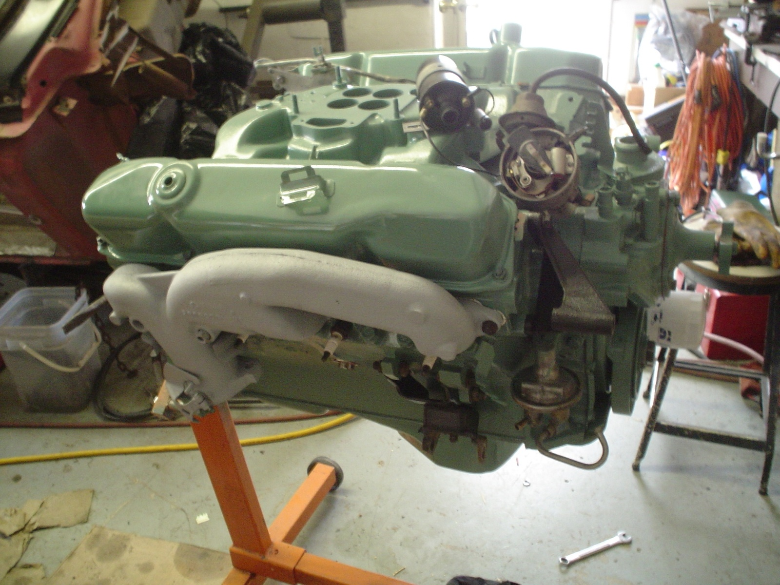 Chrysler New Yorker engine #1