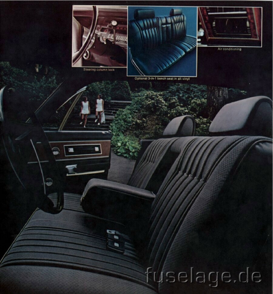 Chrysler New Yorker interior #2