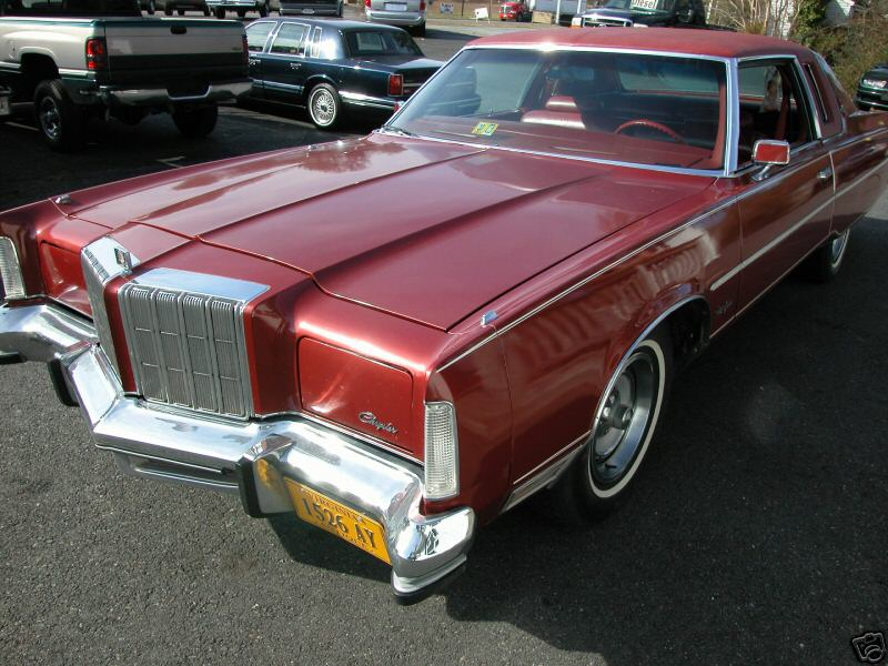 Chrysler New Yorker red #1