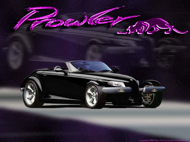 Chrysler Prowler black #1
