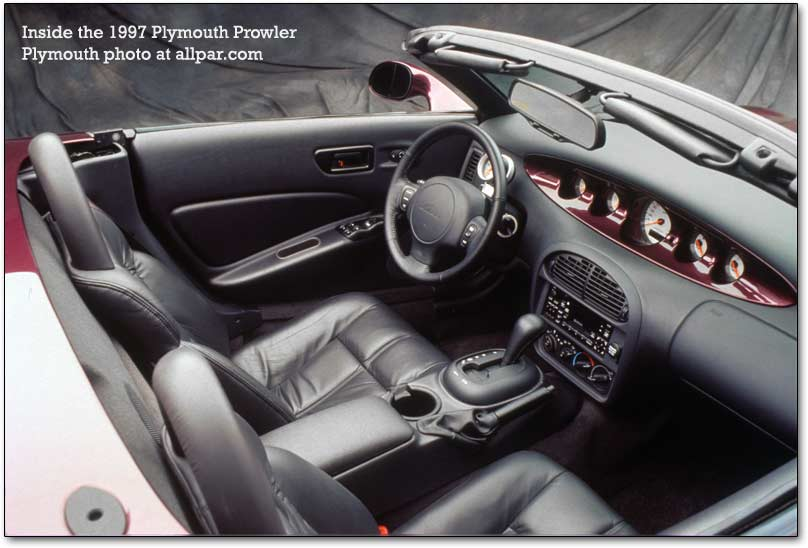 Chrysler Prowler interior #3