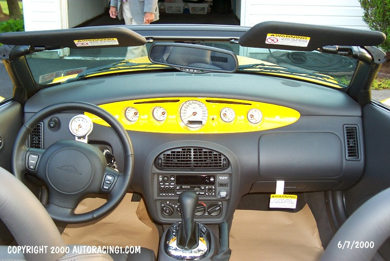 Chrysler Prowler interior #4