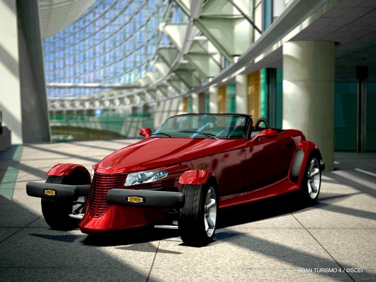 Chrysler Prowler red #3