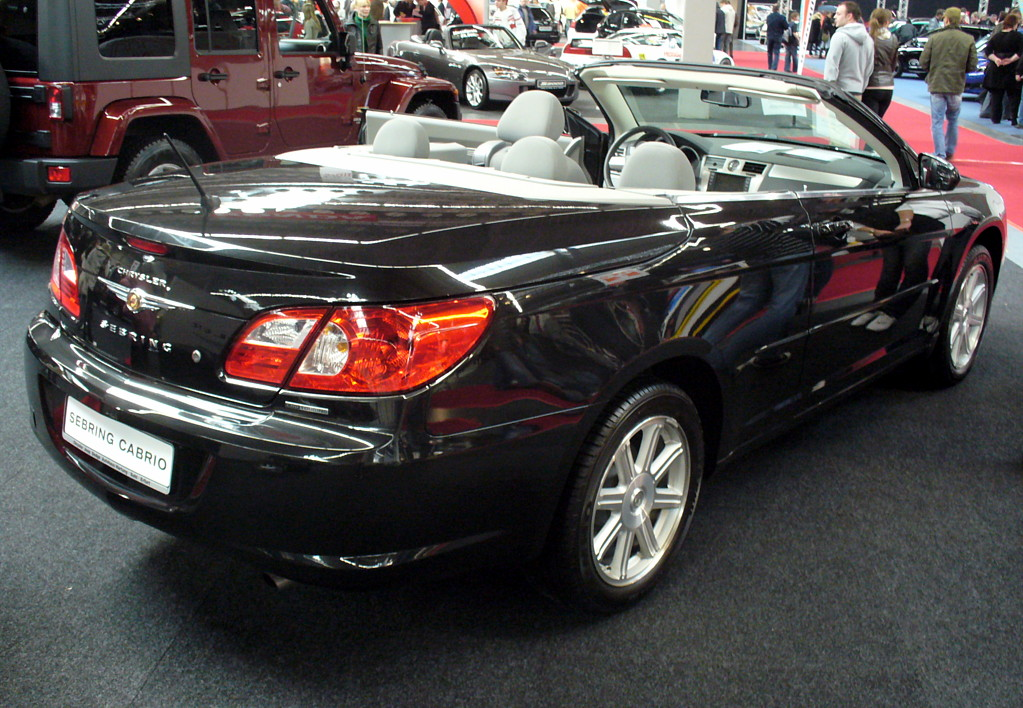 Chrysler Sebring black #3