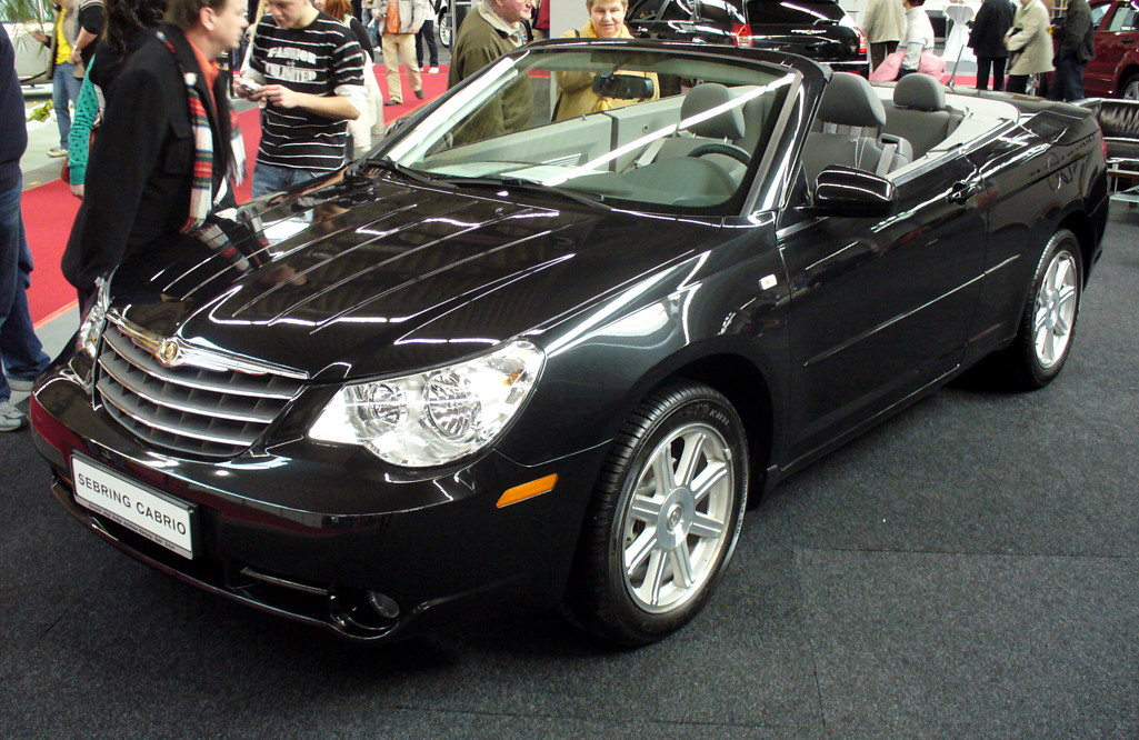 Chrysler Sebring black #4