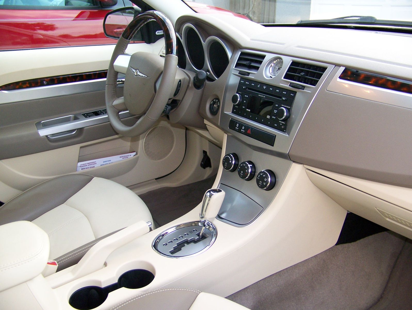 Chrysler Sebring interior #1