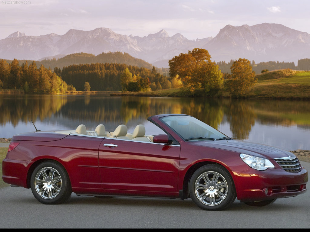 Chrysler Sebring red #4