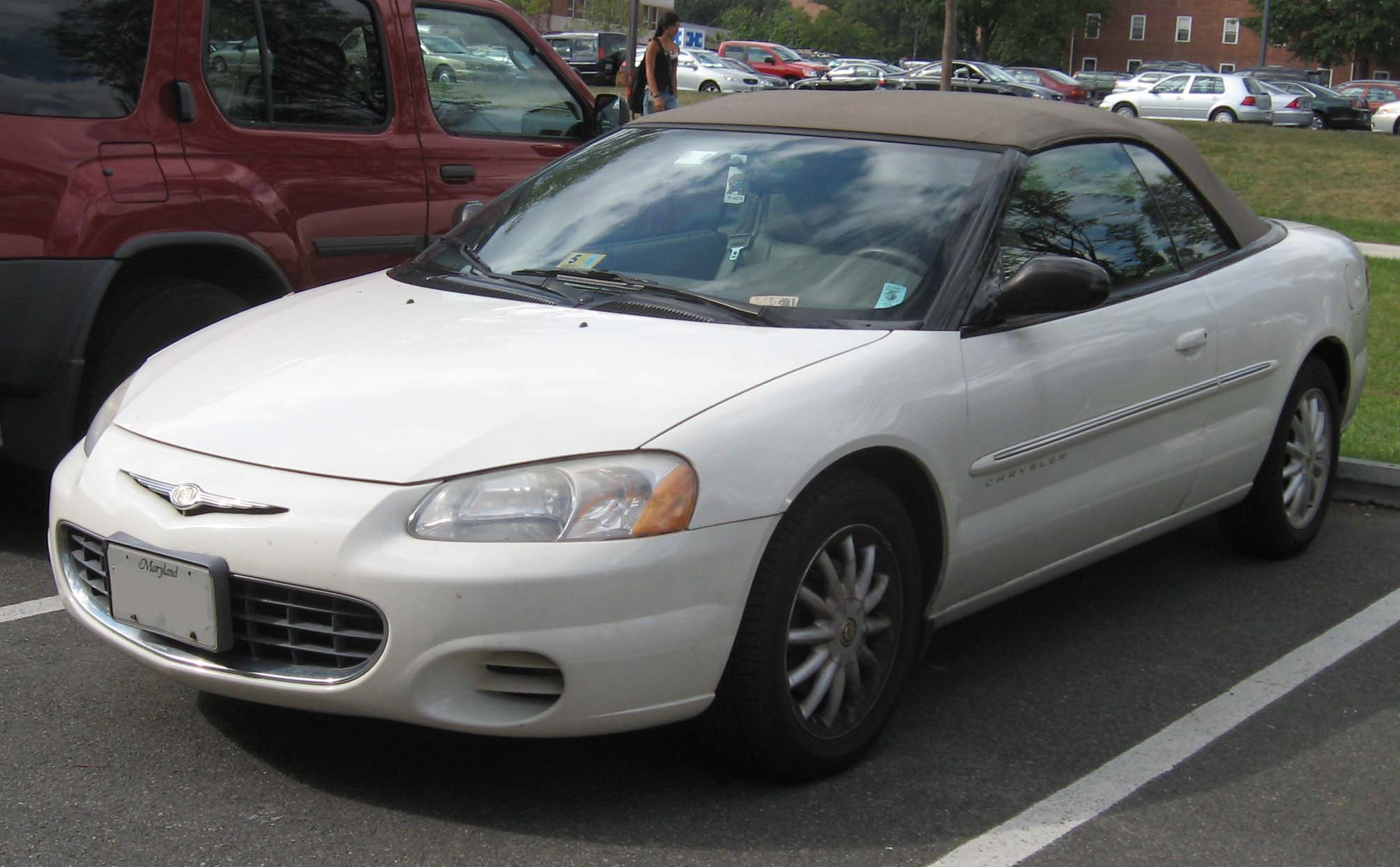 Chrysler Sebring white #4
