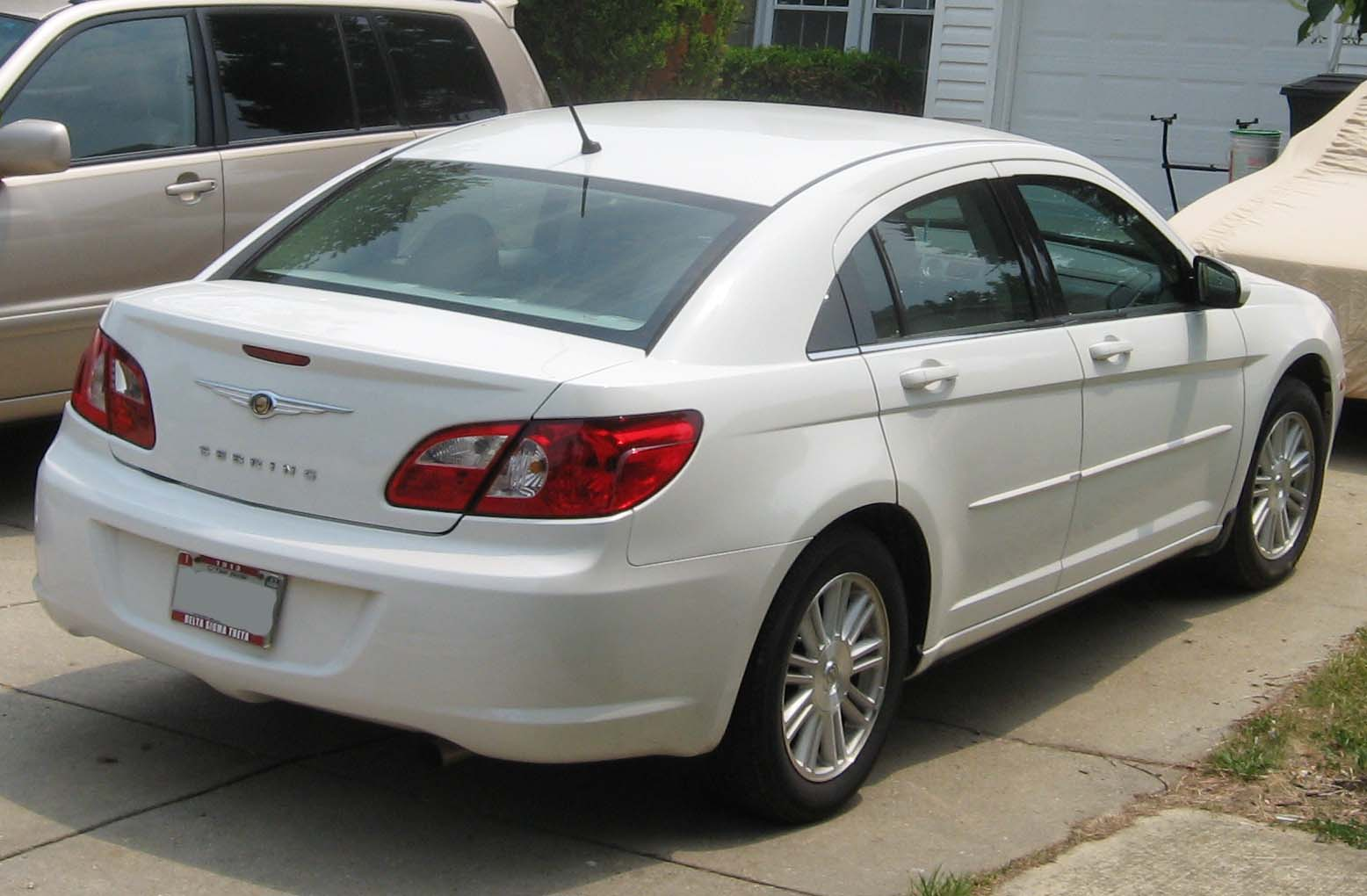 Chrysler Sebring white #1