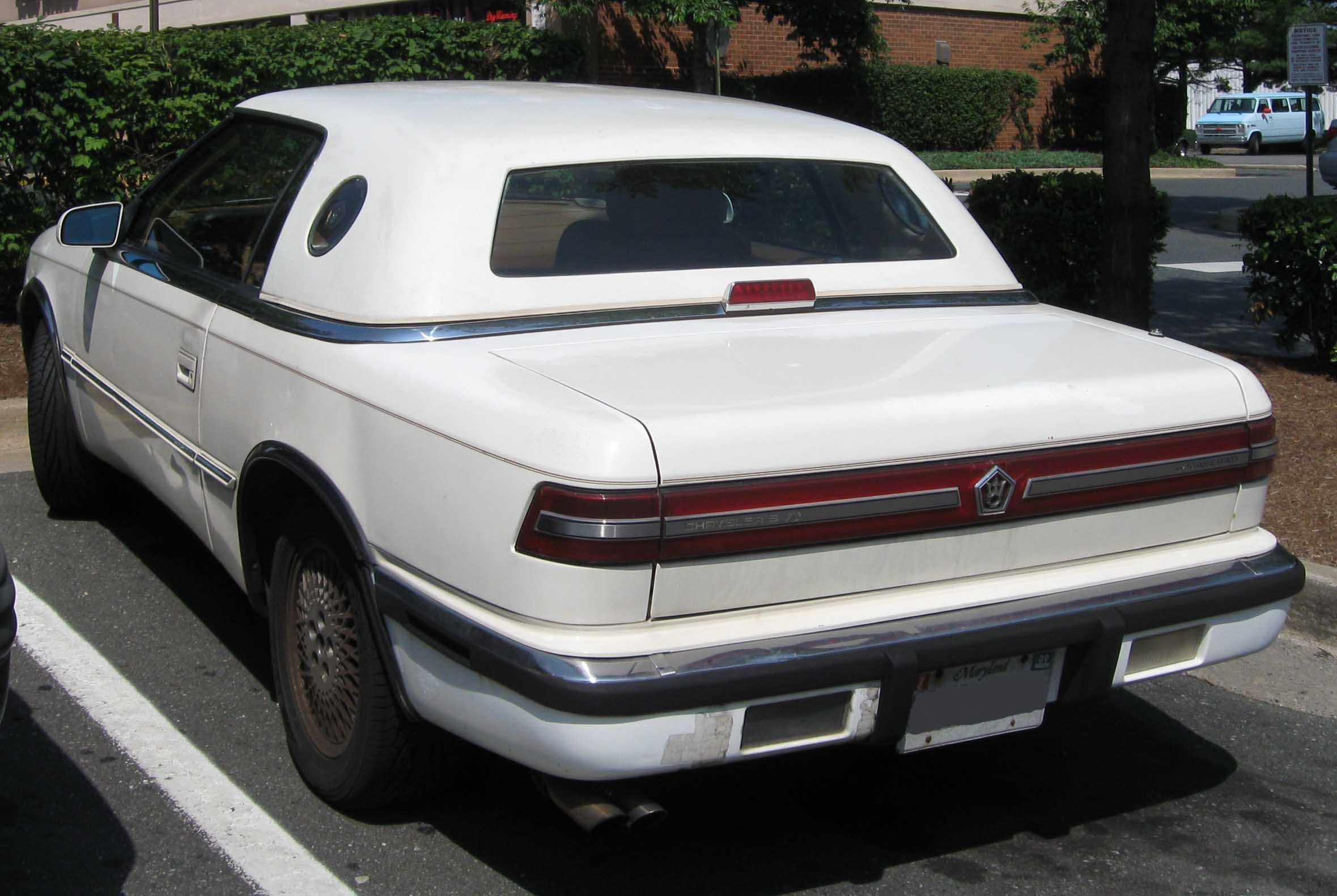 Chrysler TC white #2