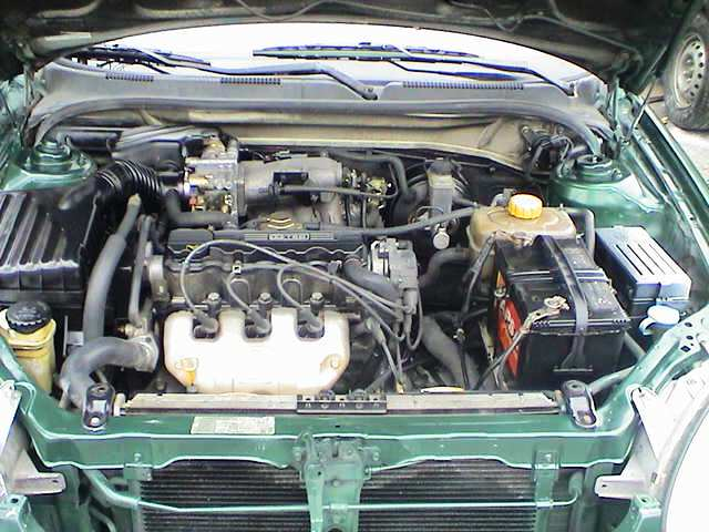 Daewoo Leganza engine #2