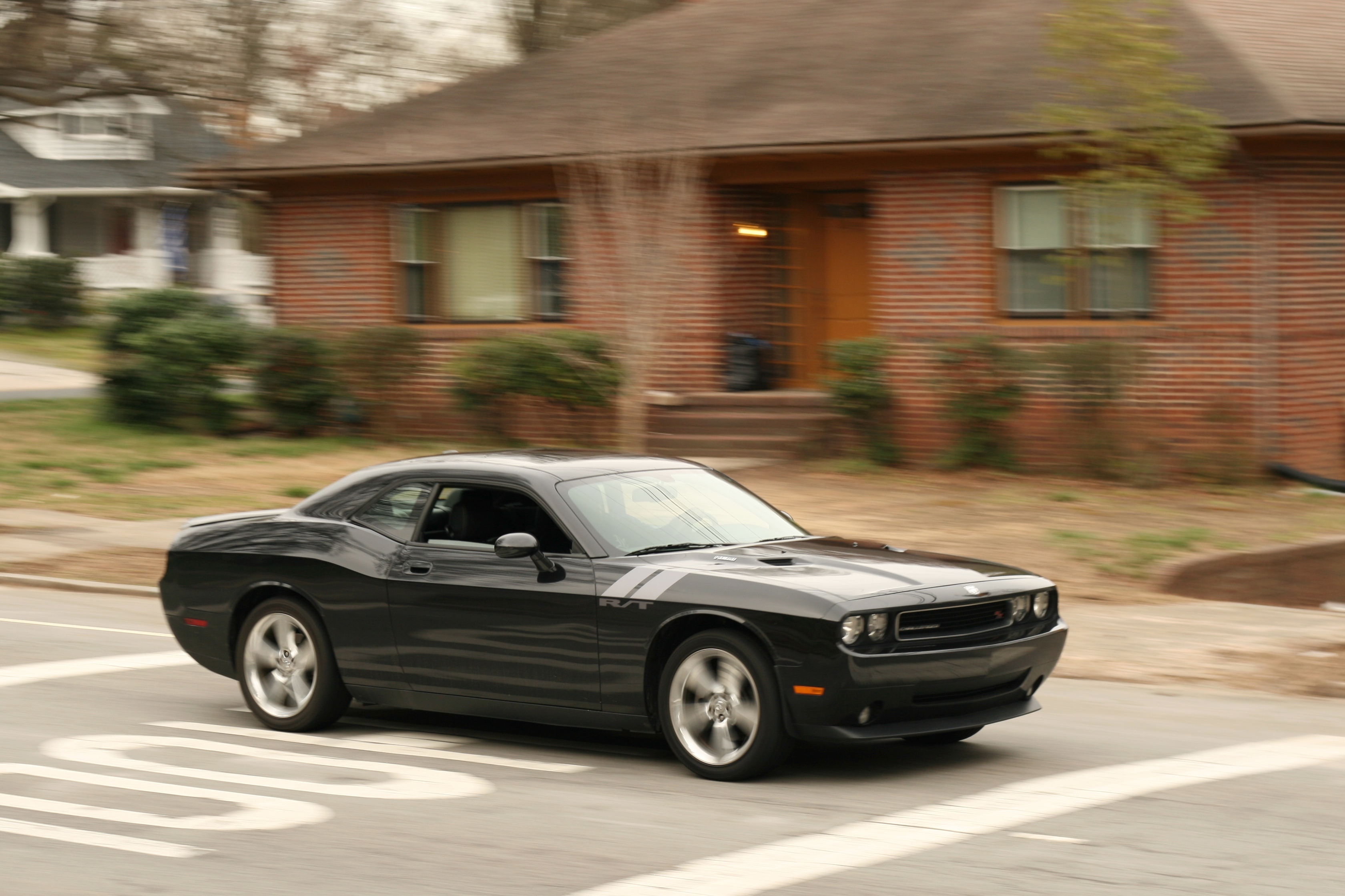 Dodge Challenger black #3