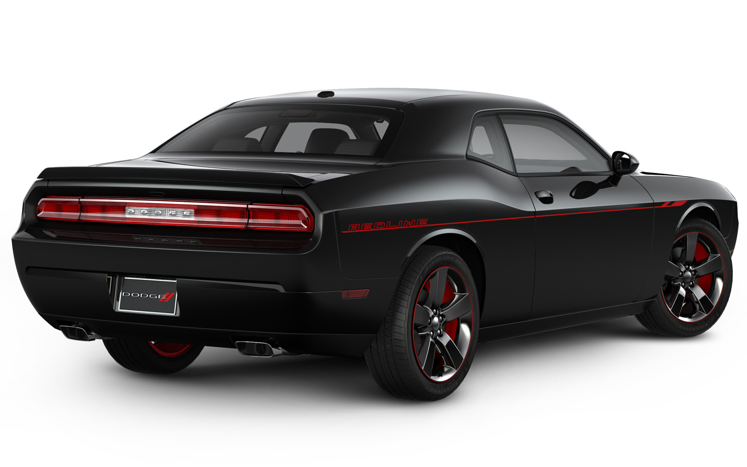 Dodge Challenger black #4
