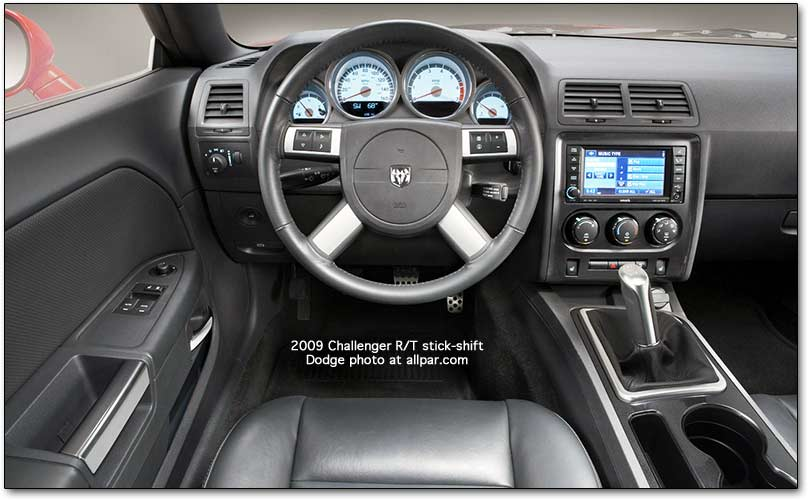 Dodge Challenger interior #2
