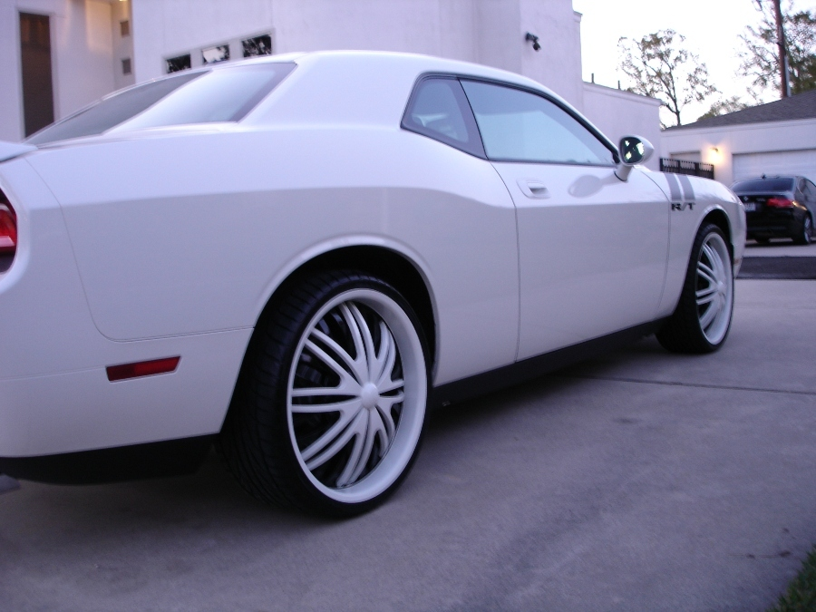 Dodge Challenger white #2