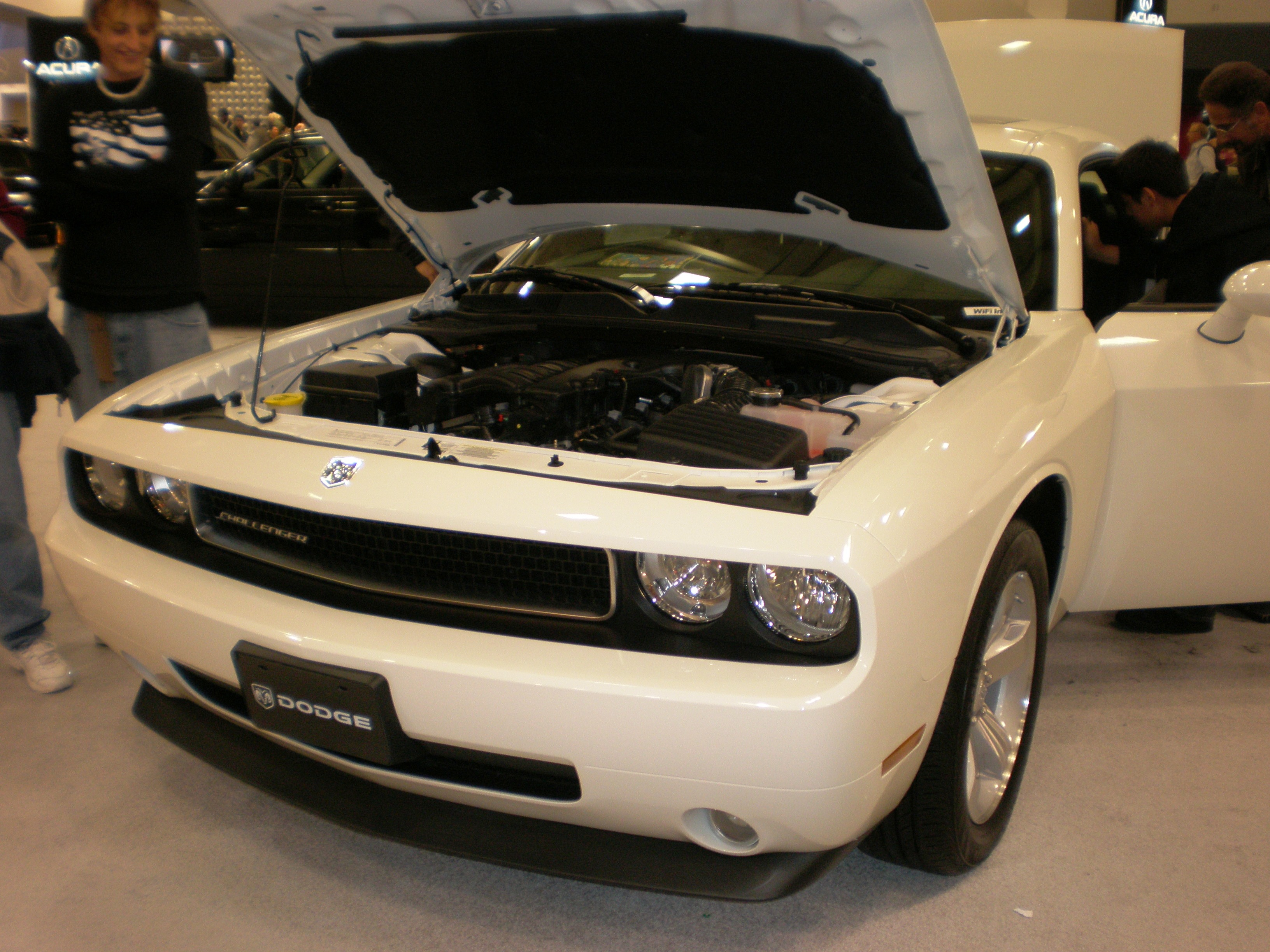 Dodge Challenger white #4