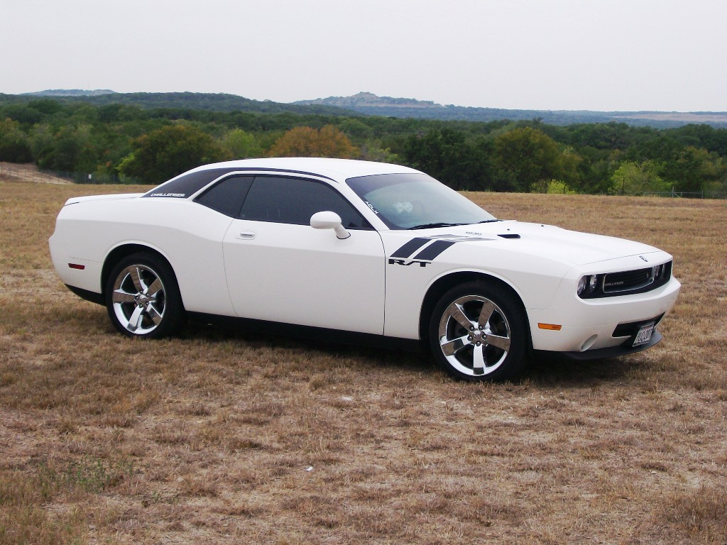 Dodge Challenger white #1