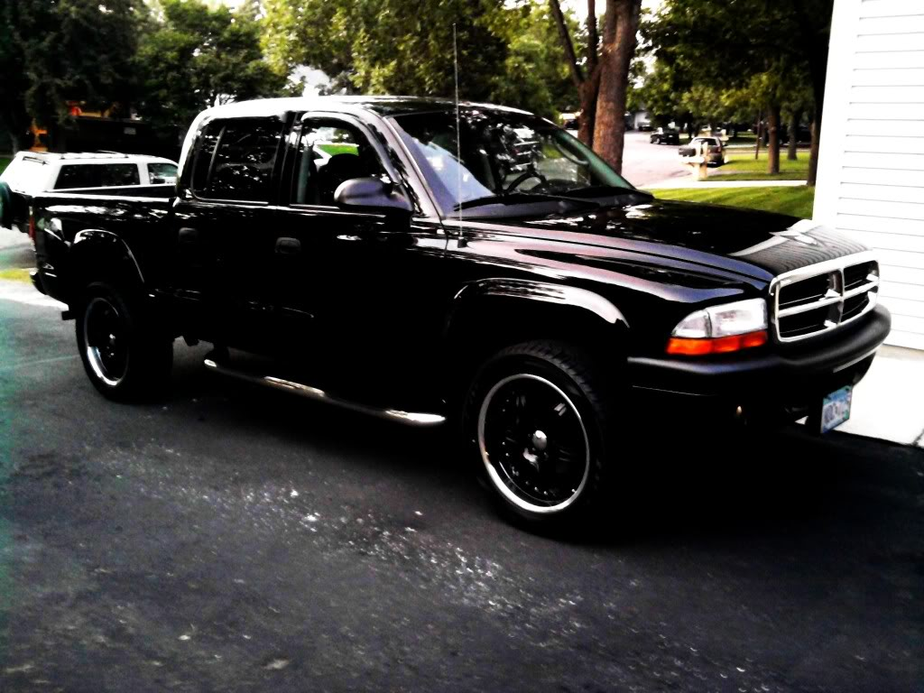 Dodge Dakota black #2
