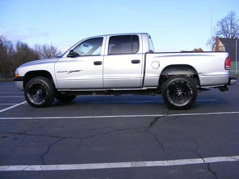 Dodge Dakota black #1