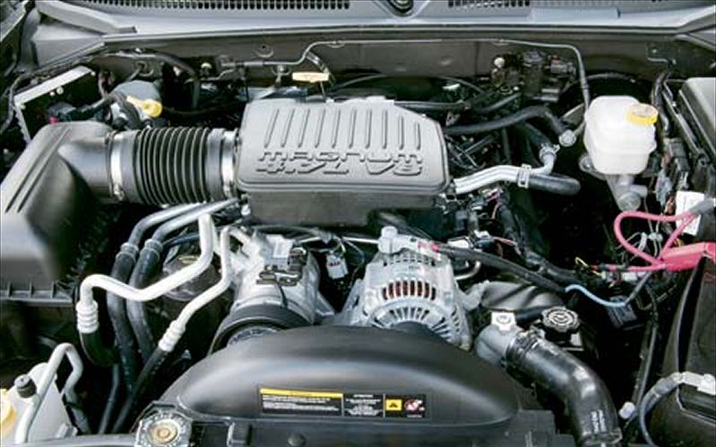 Dodge Dakota engine #4