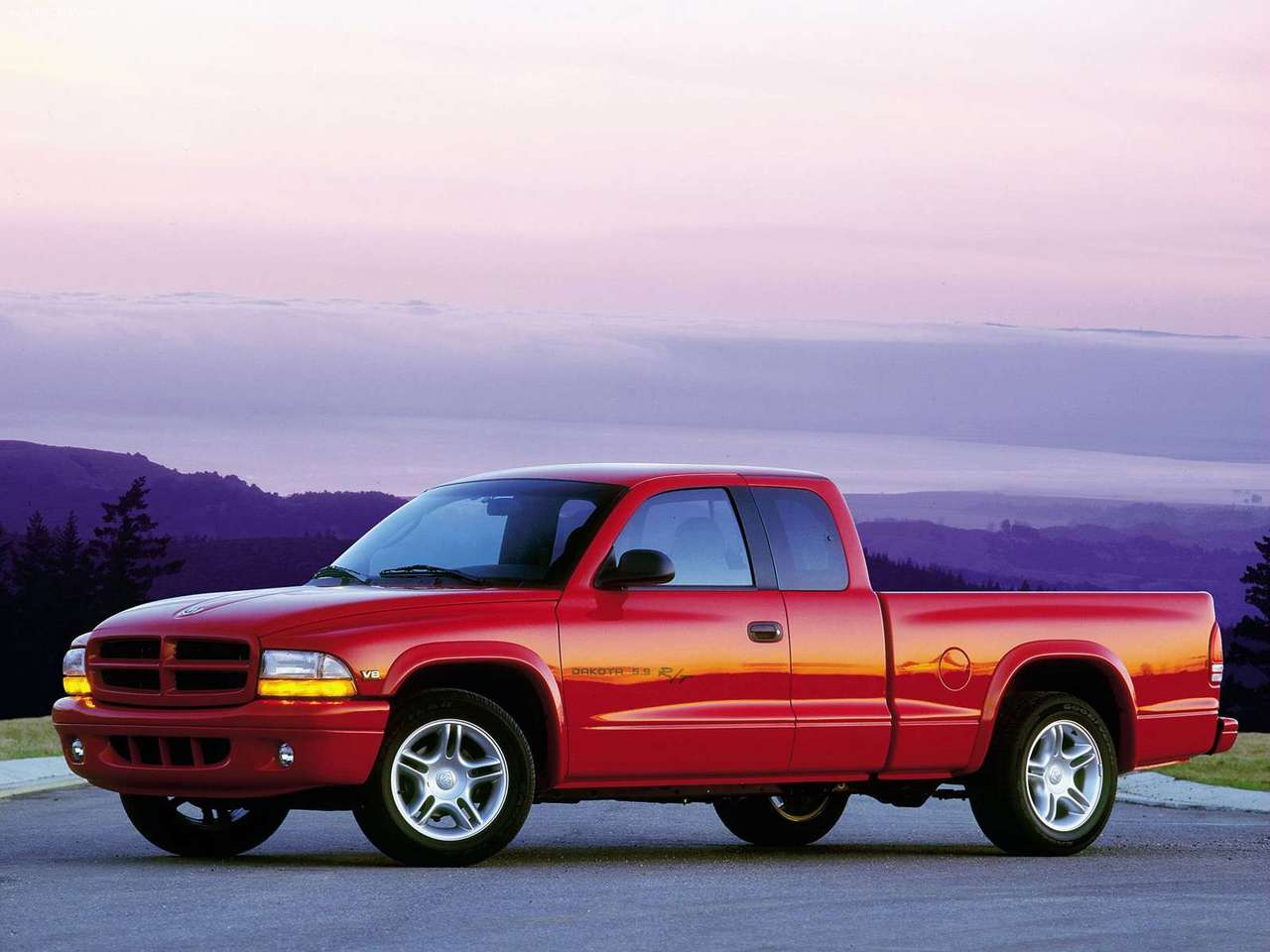 Dodge Dakota red #3