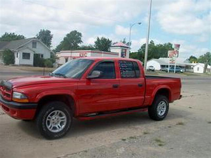 Dodge Dakota red #4