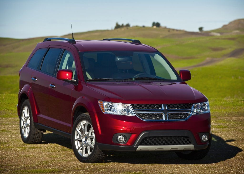 Dodge Journey red #3