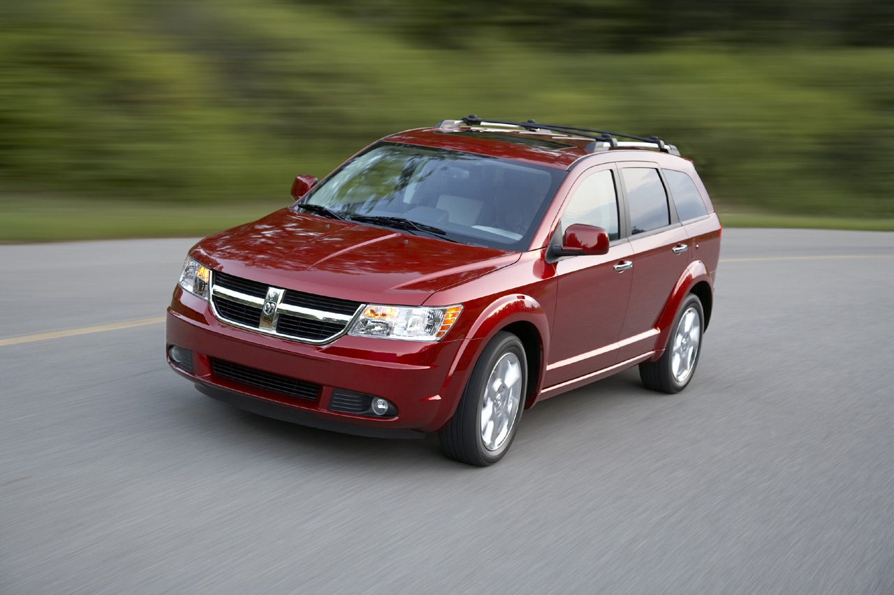 Dodge Journey red #4