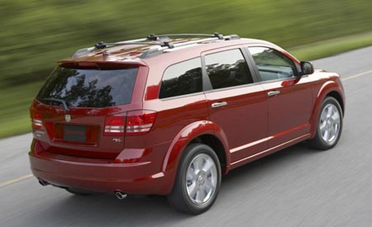 Dodge Journey red #1