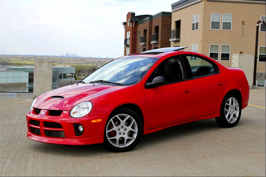 Dodge Neon red #4