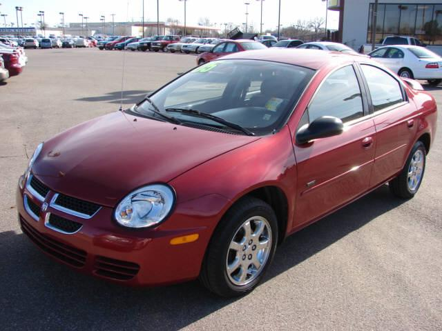 Dodge Neon red #1