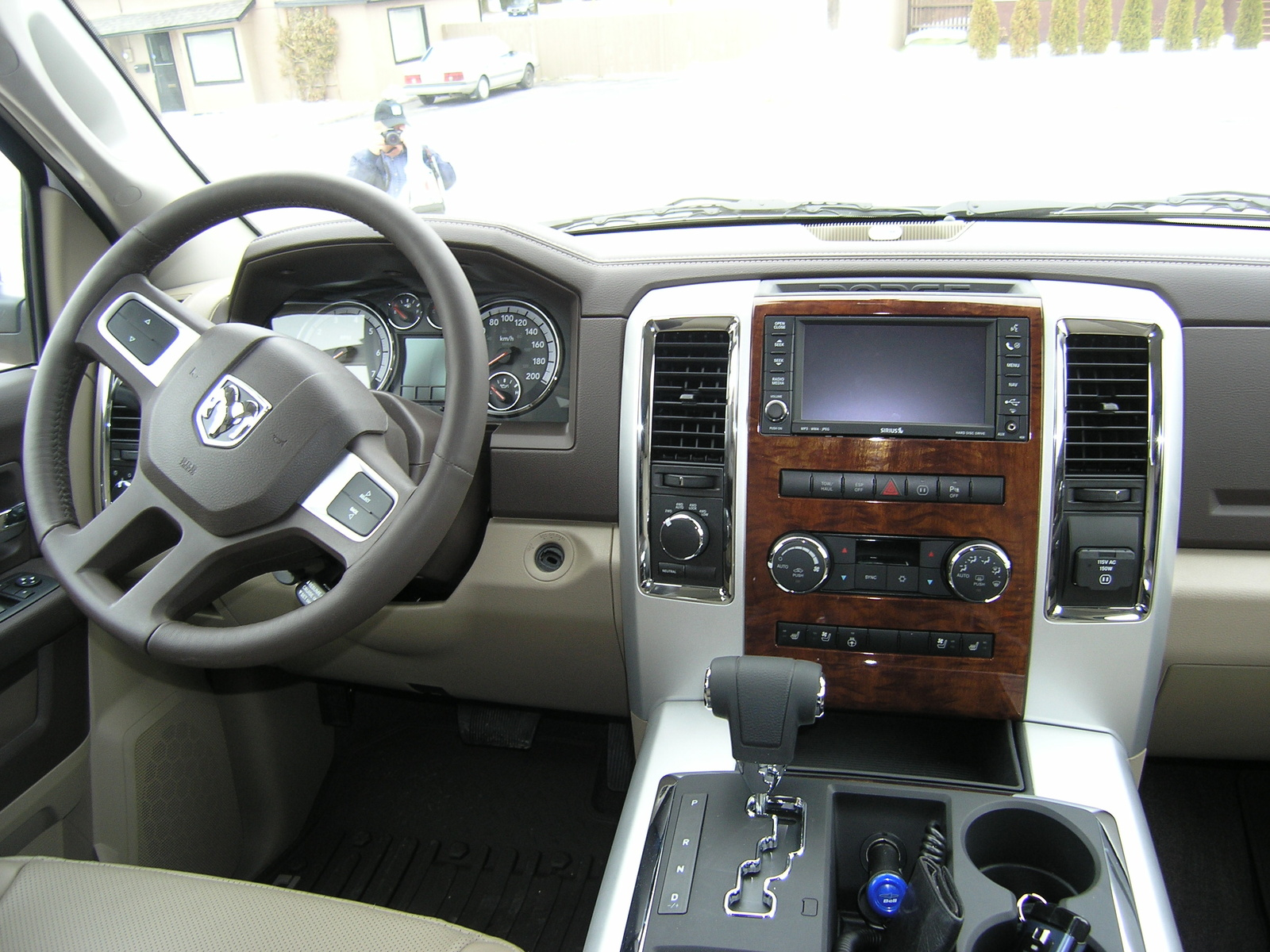 Dodge Ram Pickup 1500 interior #4
