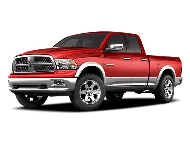 Dodge Ram Pickup 1500 red #3