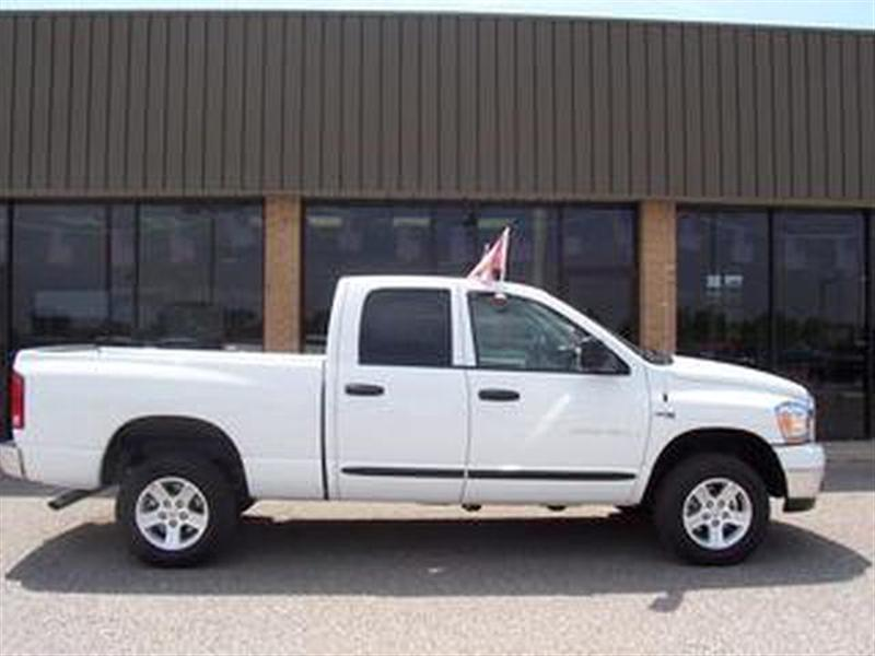 Dodge Ram Pickup 1500 white #3
