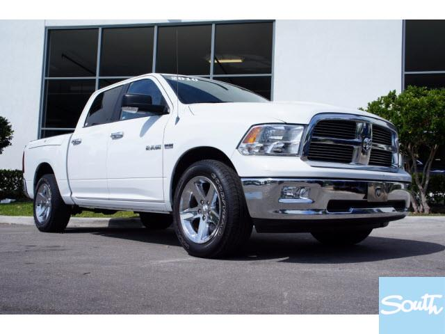 Dodge Ram Pickup 1500 white #1