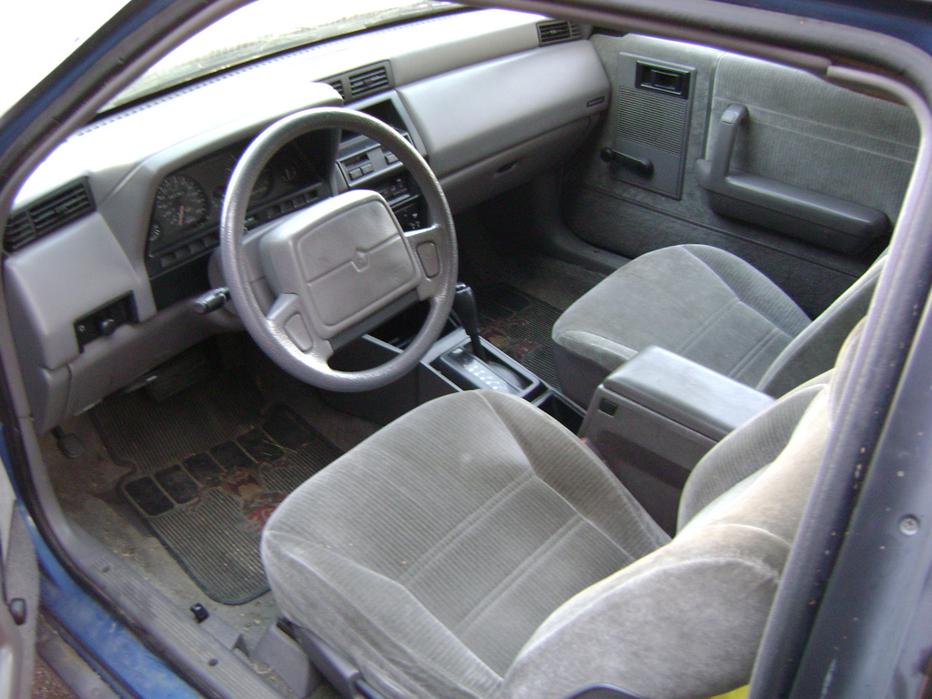 Dodge Shadow interior #3