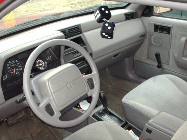 Dodge Shadow interior #1
