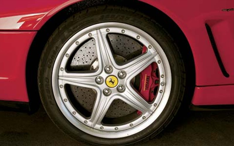 Ferrari 575M wheels #4