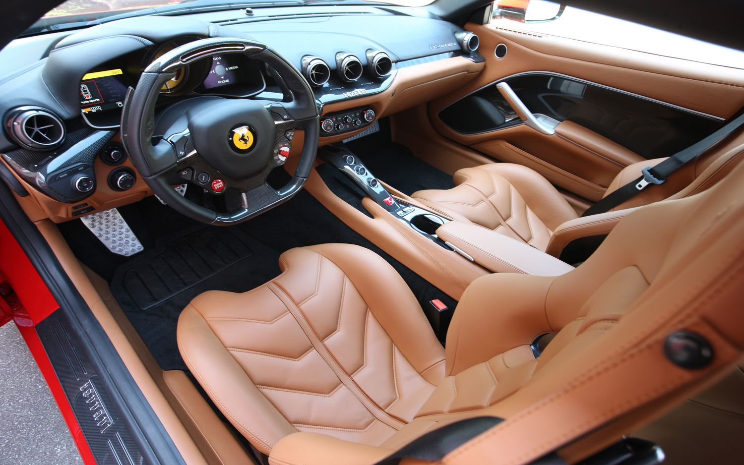 Ferrari F12 Berlinetta interior #2