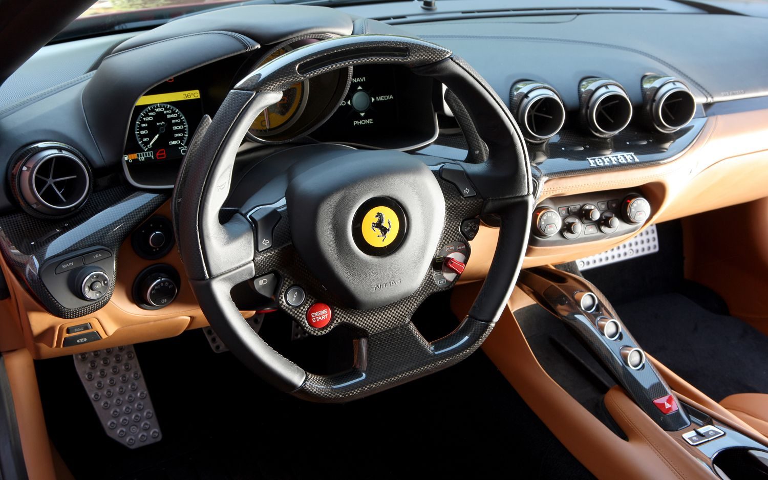 Ferrari F12 Berlinetta interior #4